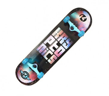 Kryptonics Skateboard Galaxy Pro Serie 31 - lila