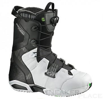 Salomon Synapse Snowboard Boots schwarz/weiß