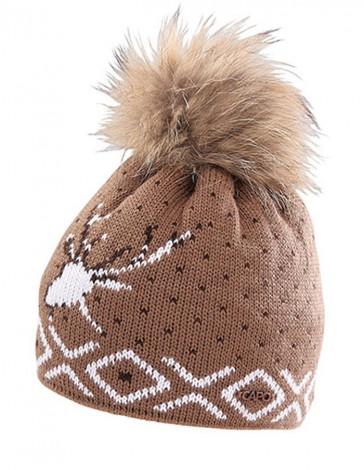 Capo Beanie-Strickmütze Tradition Brown