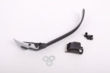 K2 Schnalle Clear s253 silber/schwarz