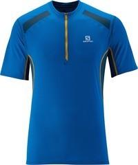 Salomon Shirt Ultraleicht Fast Wing Herren blau