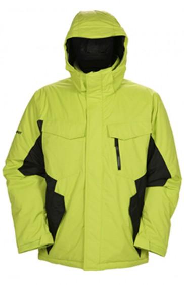 Ski und Snowboardjacke Ripzone Blackout Lime/Black