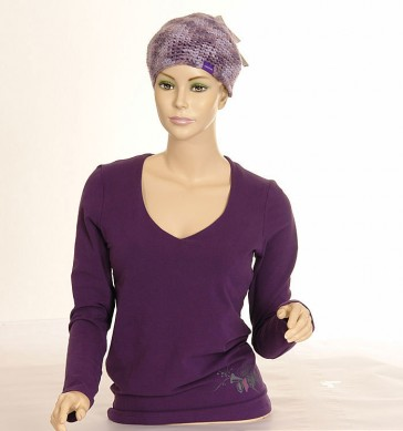 Oxbow Damen Sweat Felise Stretch Violet