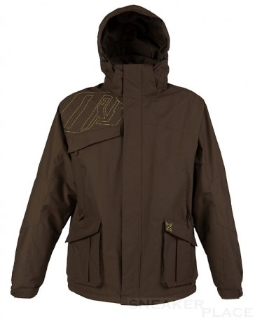 Oxbow Men Winterjacke Rilhan Dark Brown