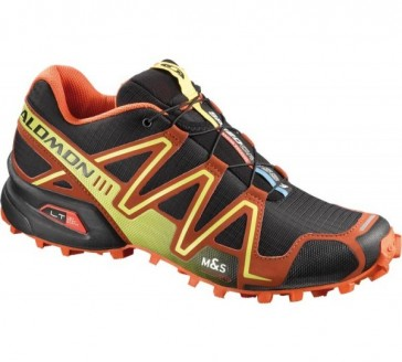 Salomon Speedcross 3 schwarz/orange