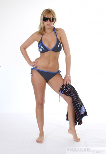 Brunotti Sofai Bikini Titanium grau / blau