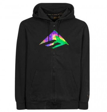 Emerica Zip Up Sonderedition Stay Gold Triangle Schwarz