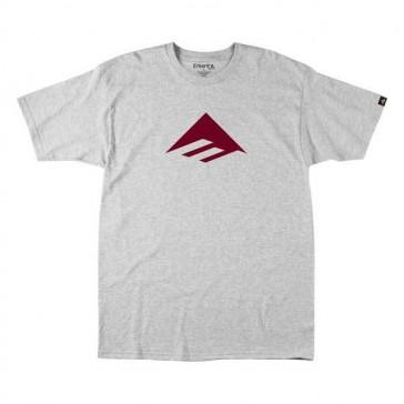 Emerica Junior Triangle 7.0 T-Shirt Basic grau rot