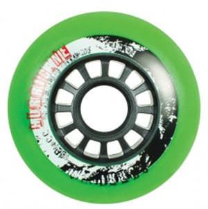 Powerslide Hurricane F2 Rollen 80mm grün vierer Set