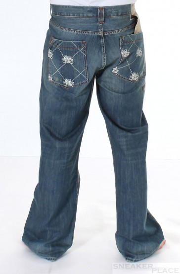 Sir Benni Miles Denim Pant Dark Bleach