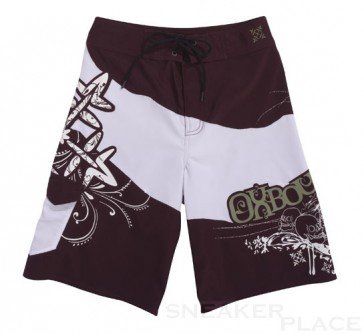 Oxbow Jon Badeshort Junior white bordeaux