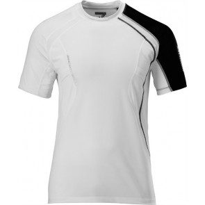 Salomon Trail Runner II Tech Tee weiß Herrren