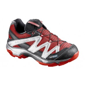 Salomon Xt Wings Wp Kinderschuhe dunkelrot