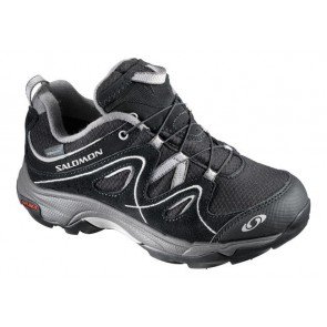 Salomon Kinderschuh Trax Kid Wp schwarz