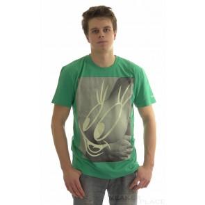 Globe T-Shirt Titface grün