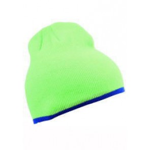 Beanie Lime Royal