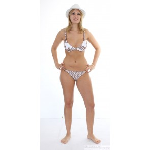 Jenna De Rosnay Pineapple 2 braun bikini