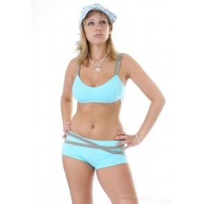 Jenna De Rosnay Bikini Türkis
