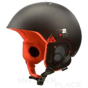 K2 Clutch Pro Ski-/Snowboardhelm-Hartschalenkonstruktion schwarz