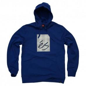 es Sweatshirt mit Kaputze Mainblock Fill royal blau