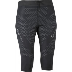 Salomon IV 3/4 Leggings Damen schwarz
