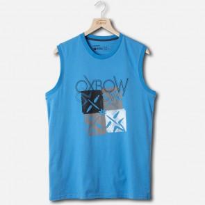 Oxbow T-Shirt Achselshirt Cubesl Blau
