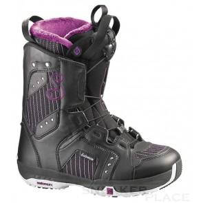 Salomon Pearl 09 Snowboard Boots Damen schwarz