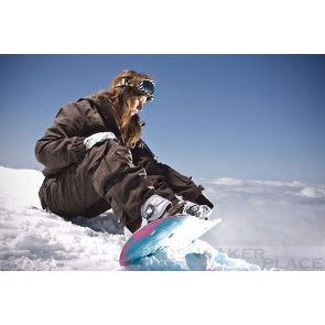 Damen Snowboardhose Ranya Brown