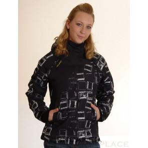 Ragwear Women Winterjacke Blond Black/White