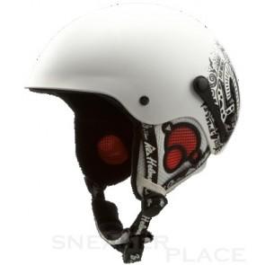 K2 Shadow Marker Kinderhelm - Hartschalenhelm weiß