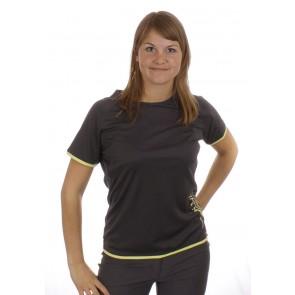 Salewa Sirene Dry Damen T-Shirt schwarz