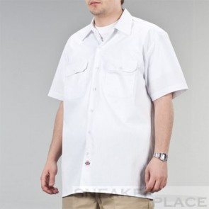 Dickies 1574 Short sleeve Hemd White