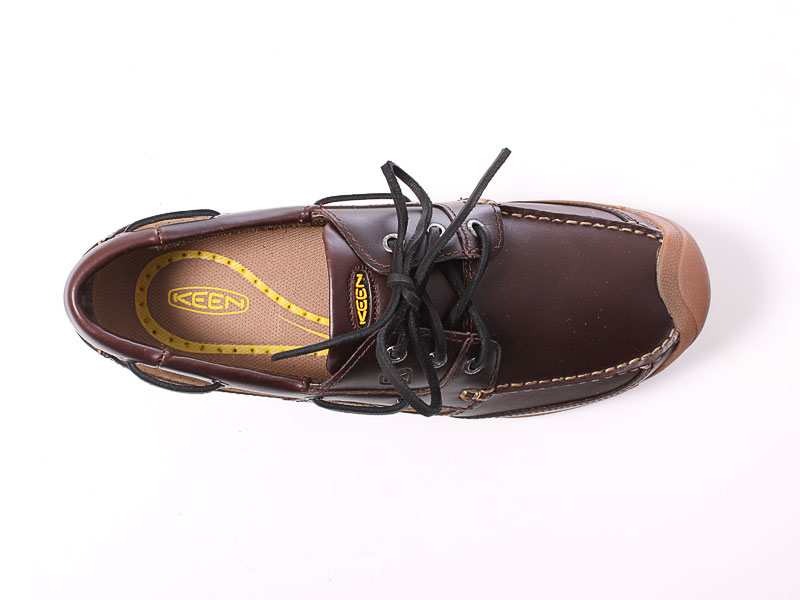 Keen Newport Boat shoe red brown