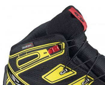 Salomon Synapse Winter CS WP schwarz/gelb/rot