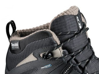 Salomon Wasatch WP black/asphalt/thyme Winterschuhe