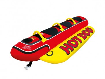 Airhead Towable Hot Dog Schwimminsel für 3 Personen