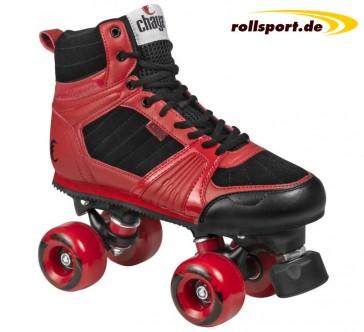 Chaya Rolllschuhe schwarz rot