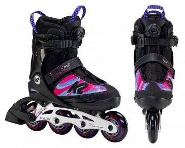 K2 Charm Boa Alu Kinder Skates 2021