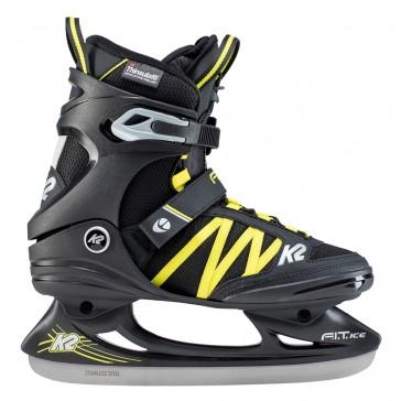 K2 Fit Ice Pro Herren Schlittschuhe schwarz gelb
