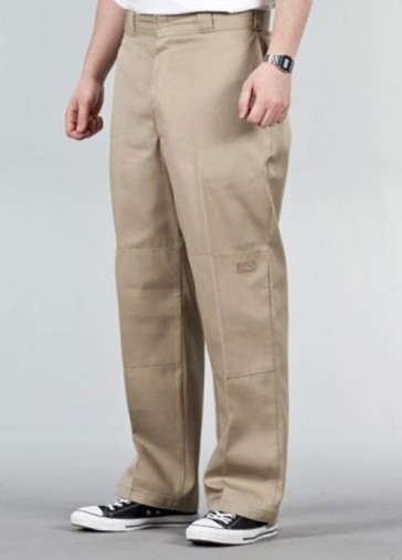 Dickies Double Knee Arbeits Hose Khaki