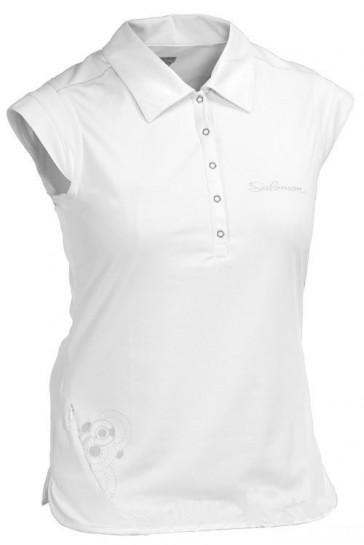 Weißes Polo Shirt von Salomon
