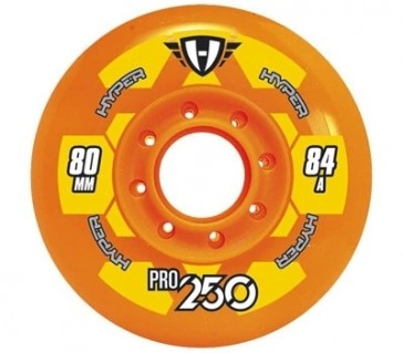 Hyper Pro Outdoor Hockey 250 Rollen 72mm, 76mm, 80mm