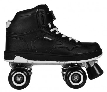 Powerslide Player Quad Skates schwarz