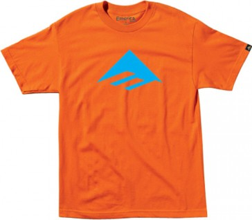 Emerica Junior Triangle 7.0 T-Shirt Basic Orange