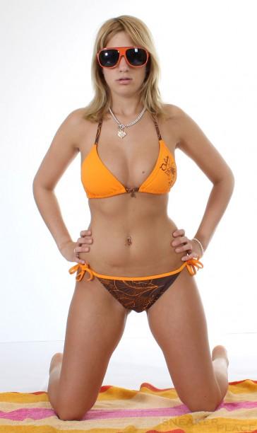 Oxbow Triangle Bikini Kaffeebraun Brasil 2P