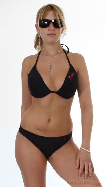 Push Up Bikini Oxbow Biza Black Noir Cup C