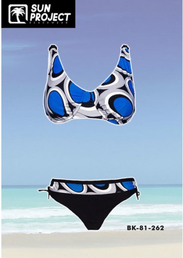Sun Projekt Blauer Bügel Bikini Cup D