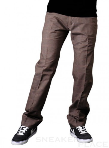 Reell Chino Pant Oxford brown purple