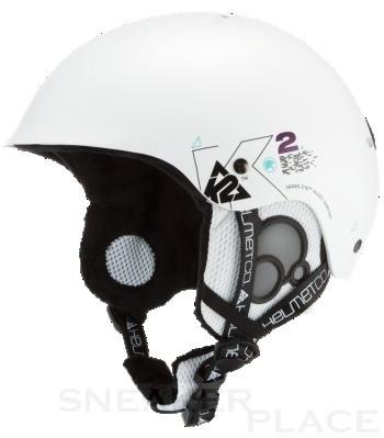 K2 Clutch Pro Ski-/Snowboardhelm - Hartschalenkonstruktion weiß