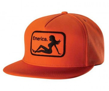 Emerica Cap INTERSTATE SNAPBACK Orange